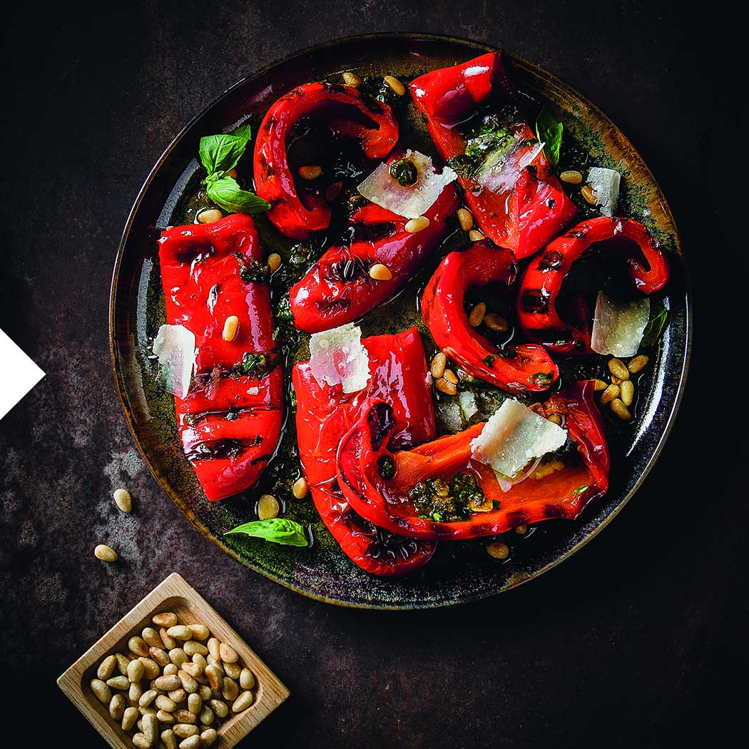 Veggie Grillen Mini-Paprika