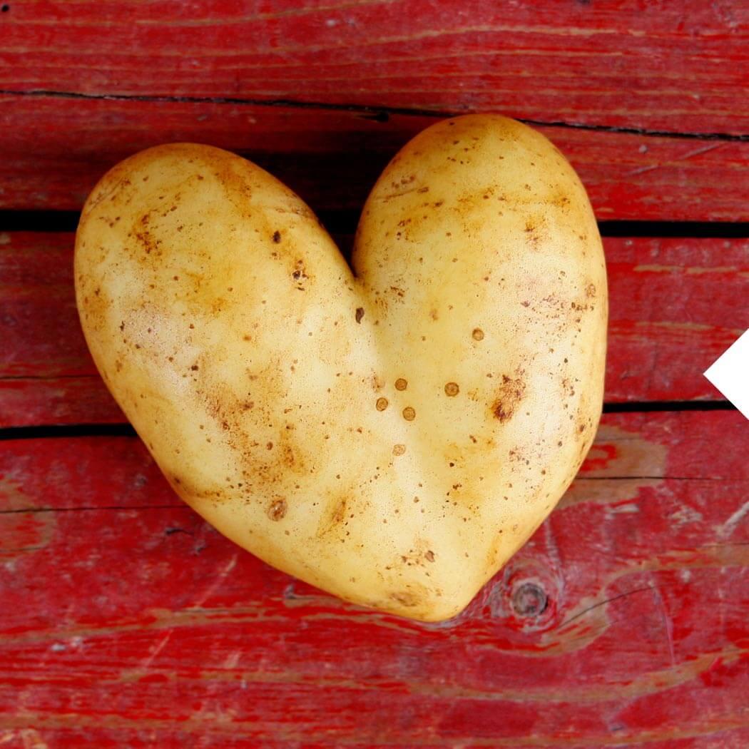 Kartoffel-Rezepte Herz
