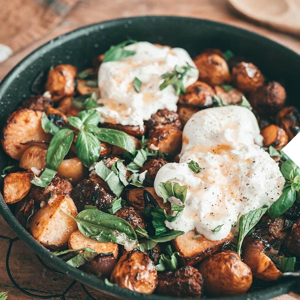 Kartoffel-Rezepte Burrata