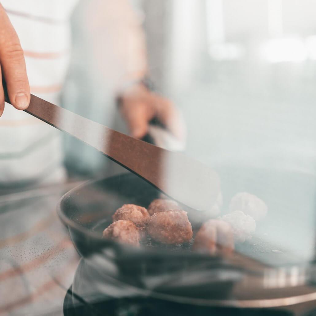 Kartoffel-Rezepte Fleischklößchen