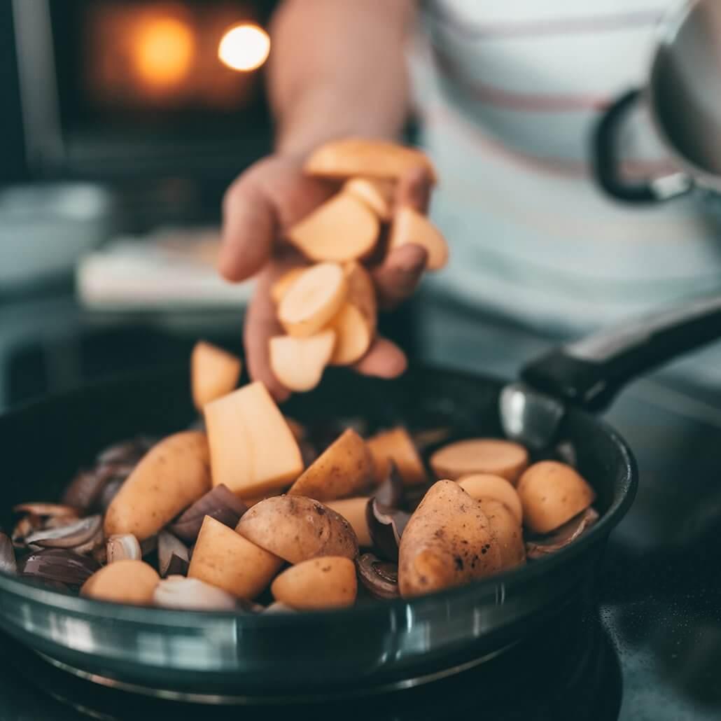 Kartoffel-Rezepte Zutaten