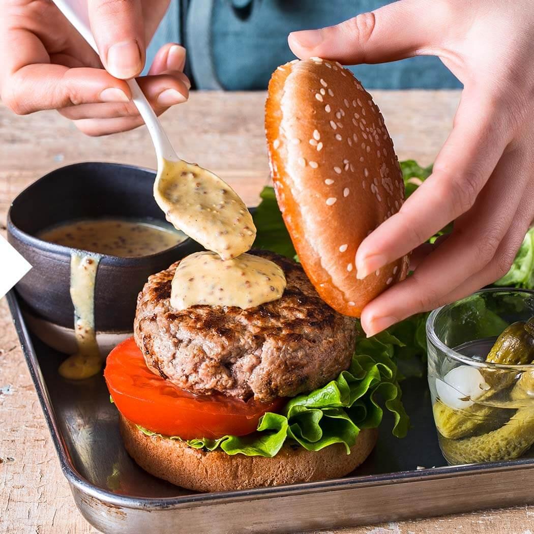 Burger-Kontaktgrill