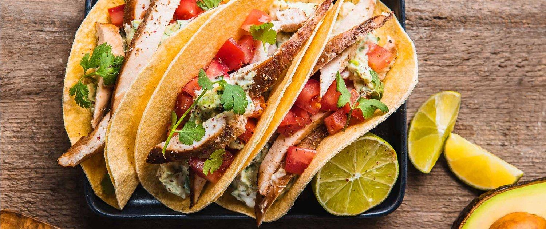 Burrito Tortilla Streetfood Header