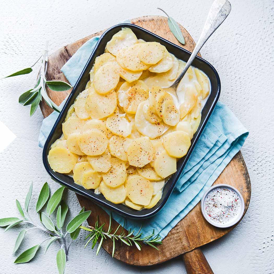 Auflauf-Rezepte Kartoffelgratin