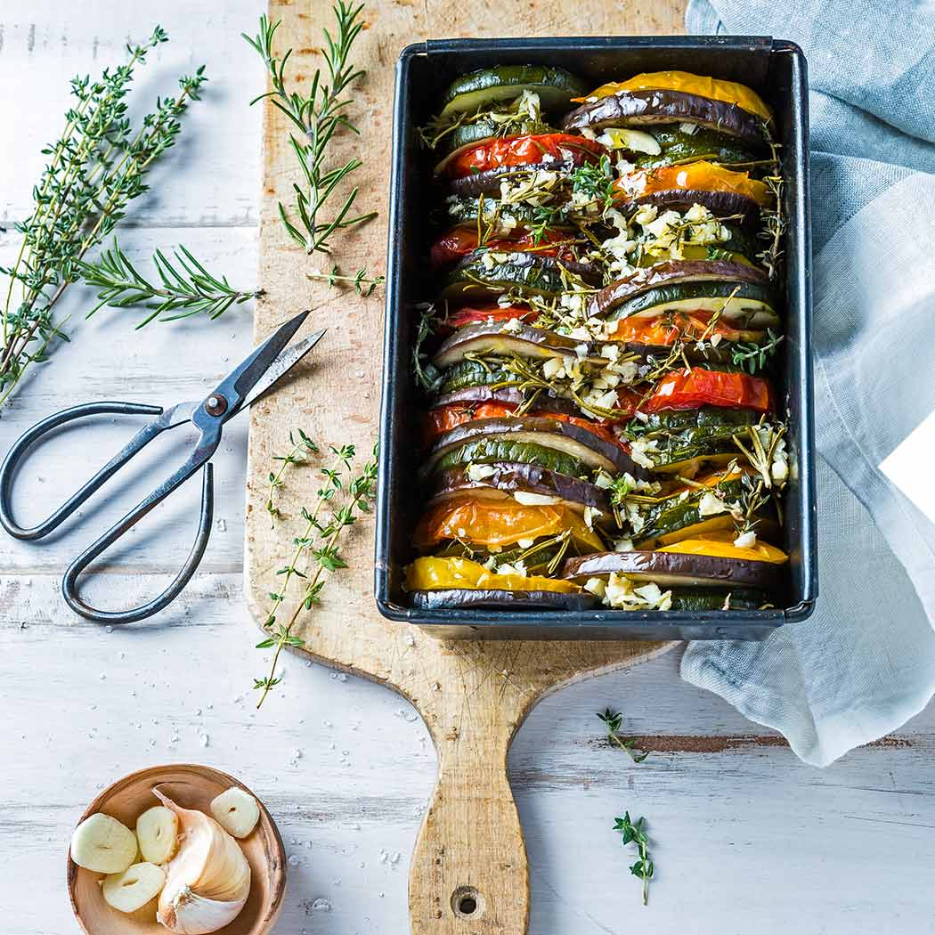 Auflauf-Rezepte Gemüsegratin