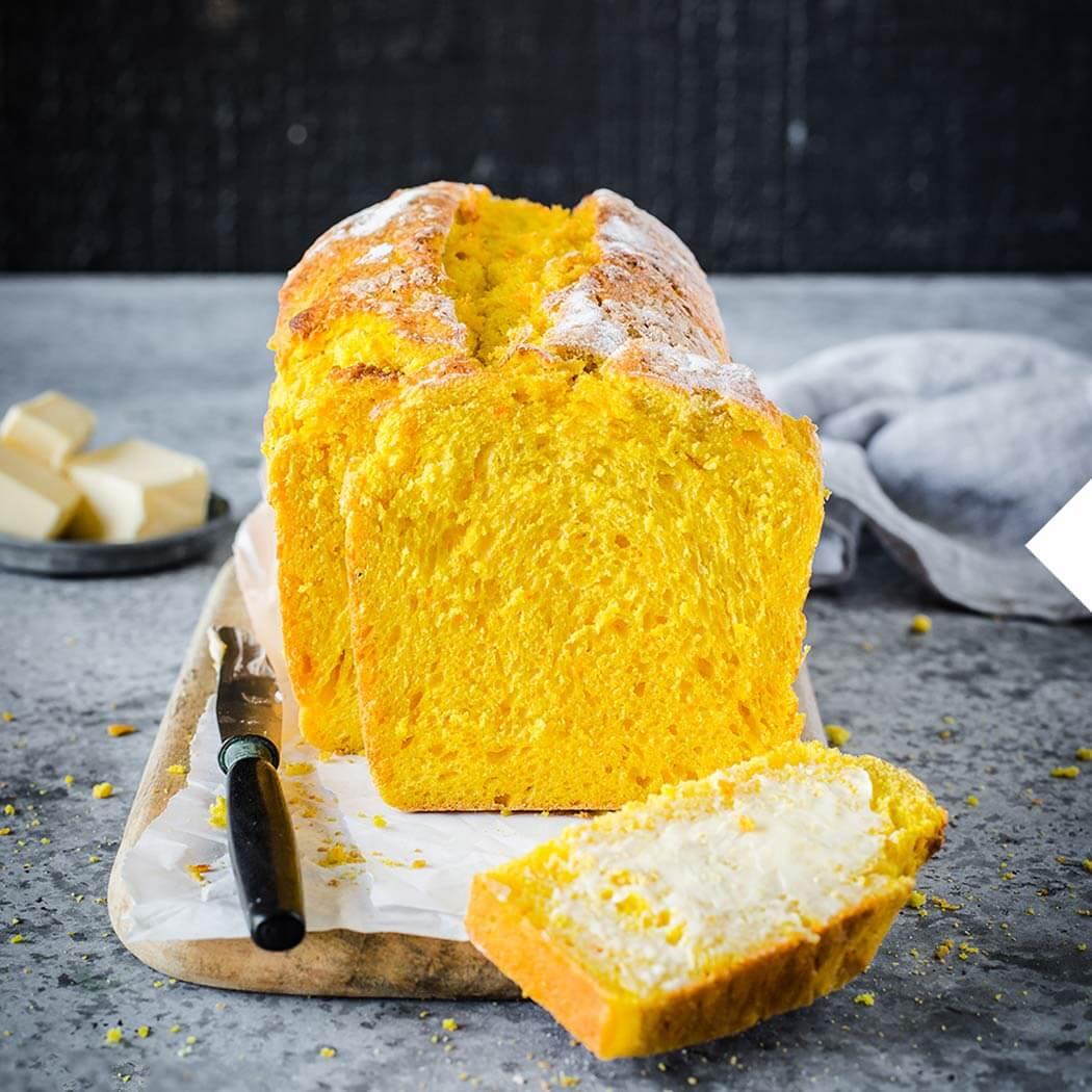 Kürbis Brot