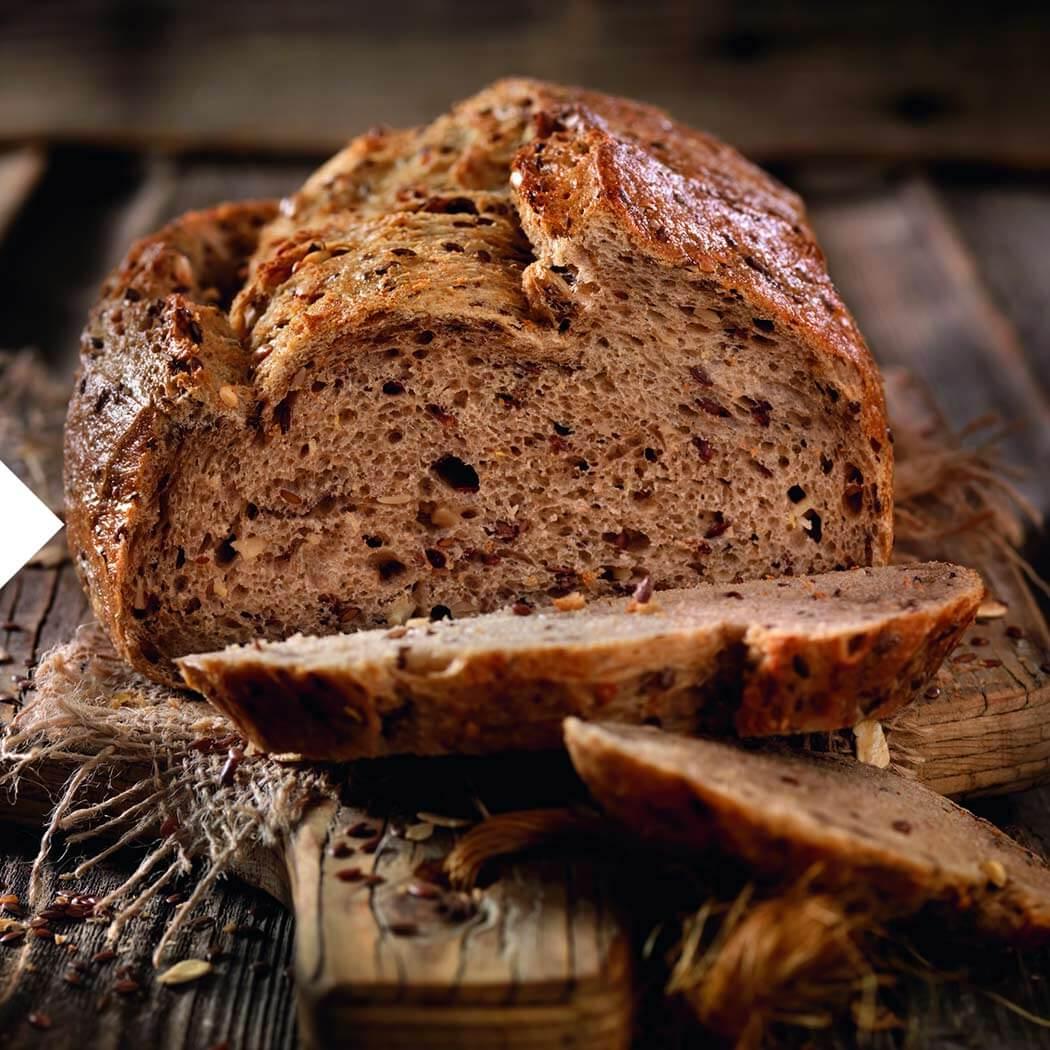 Brot Brot aufgeschnitten