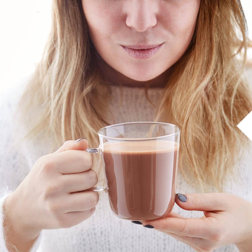 Weihnachten Trinkschokolade