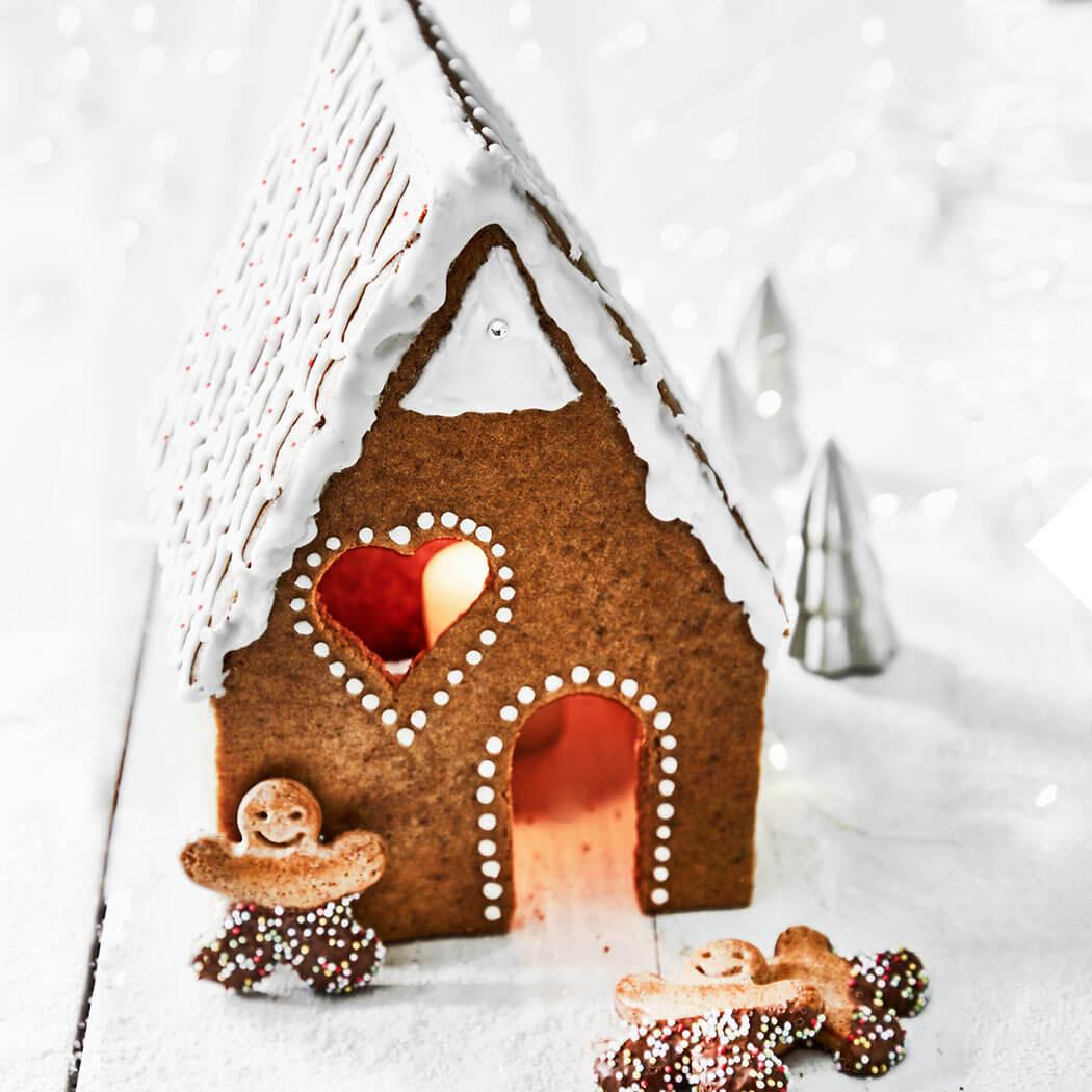 Weihnachtskekse Weihnachten Weihnachtsplätzchen Lebkuchenhaus