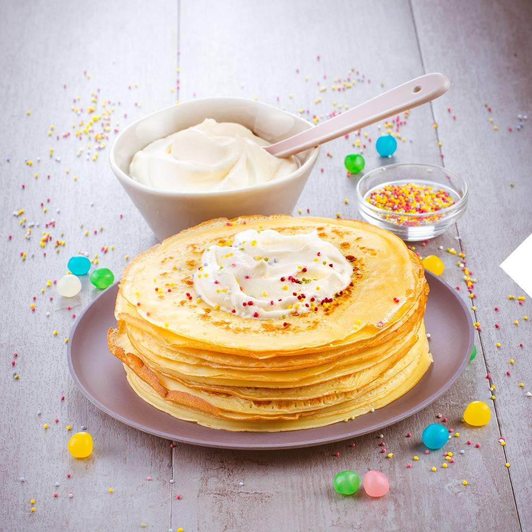 Pancakes Crêpes Sahne