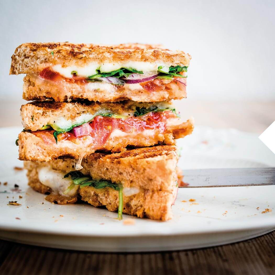 Sandwich Kontaktgrill Schinken Sandwich