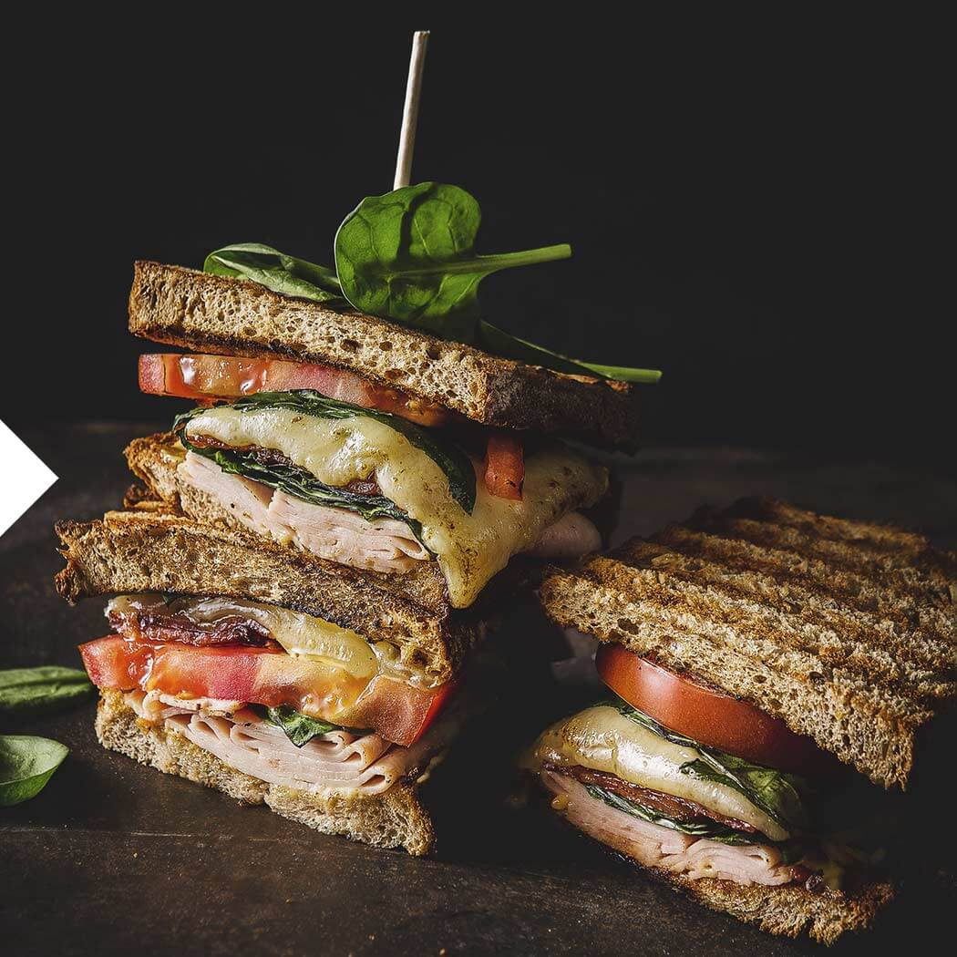 Sandwich Kontaktgrill Club Sandwich