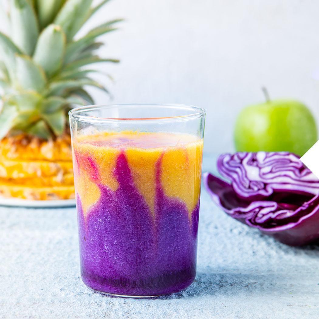 Smoothie Rezepte Mango-Rotkohl-Smoothie