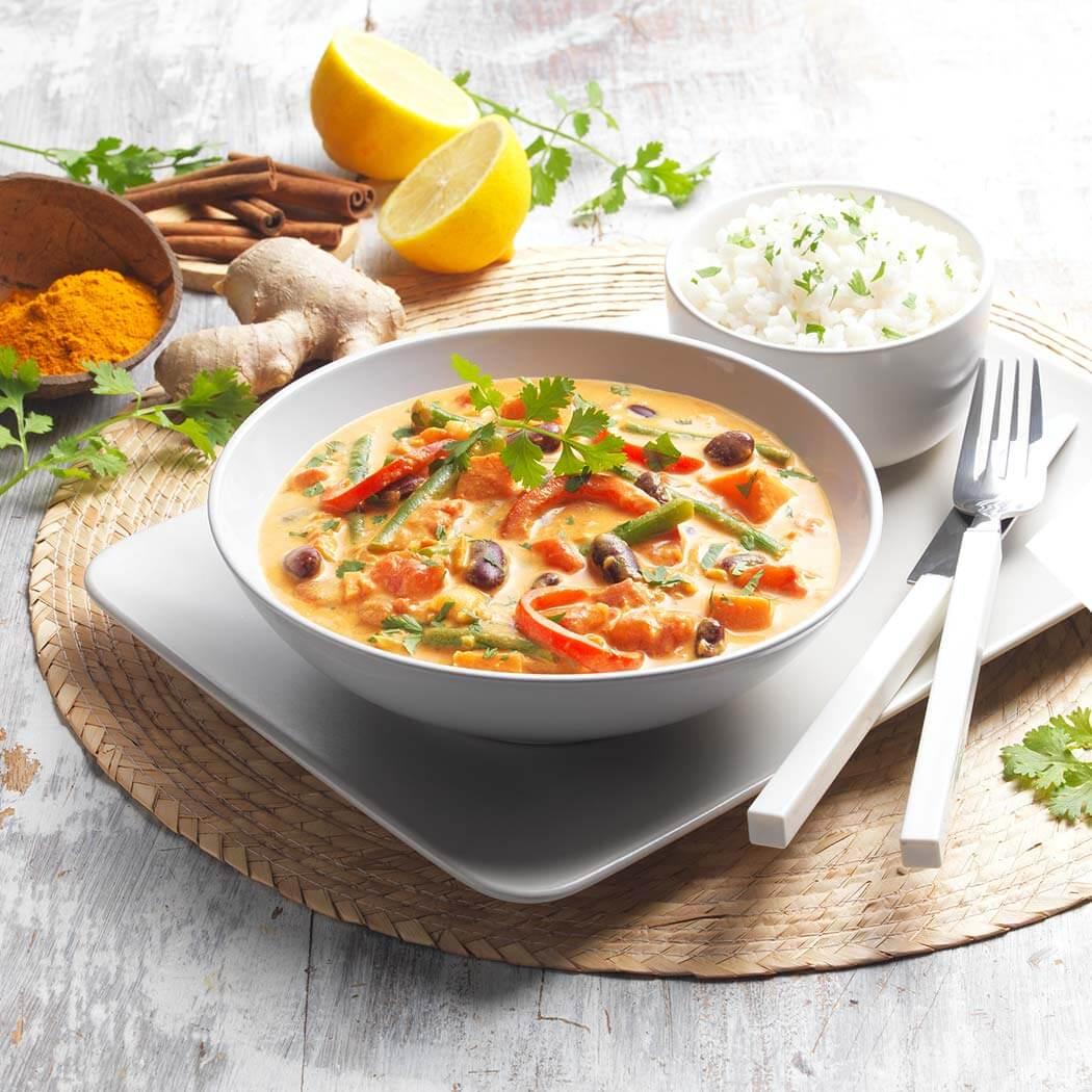 Curry Gemüsecurry