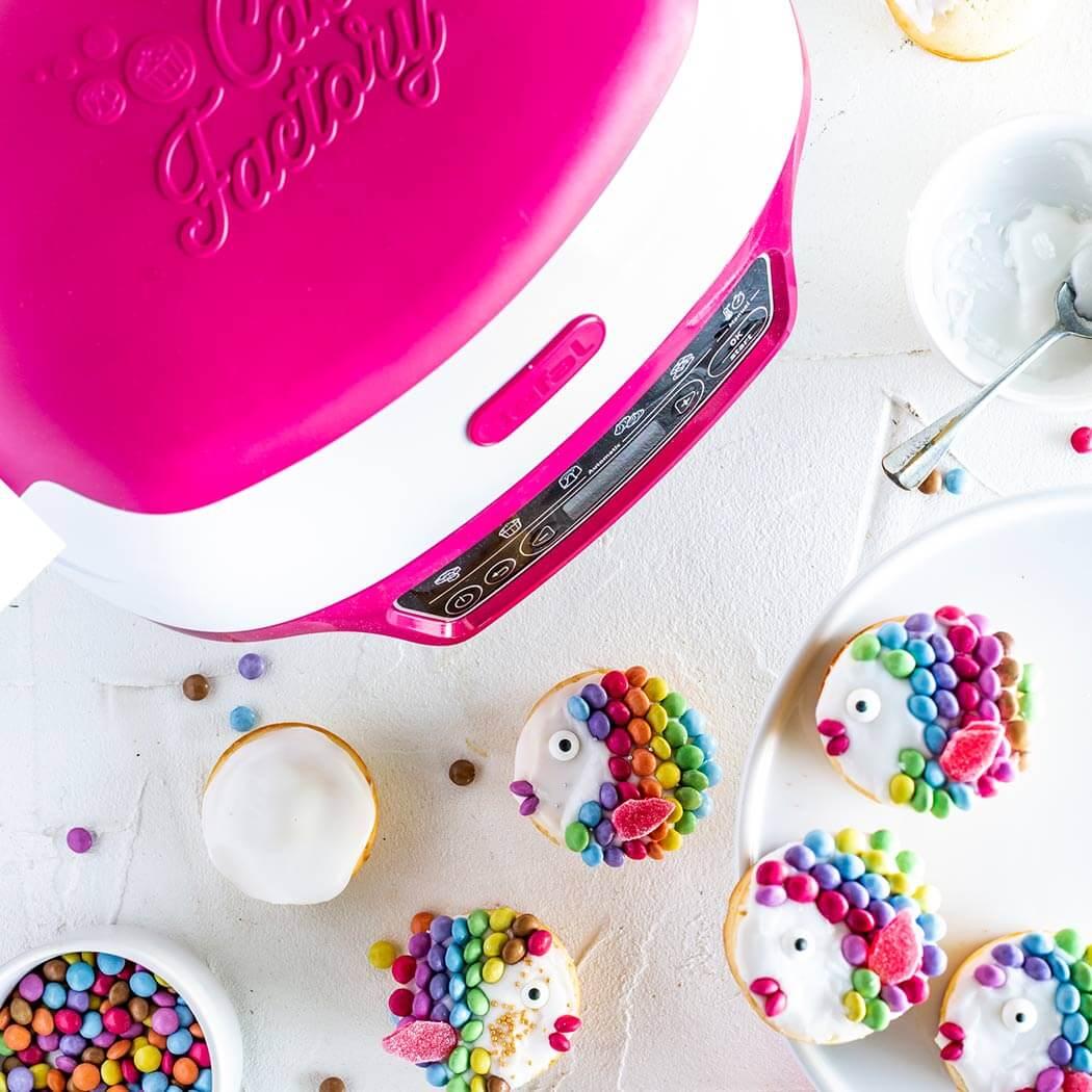 Muffins Regenbogenfischmuffins