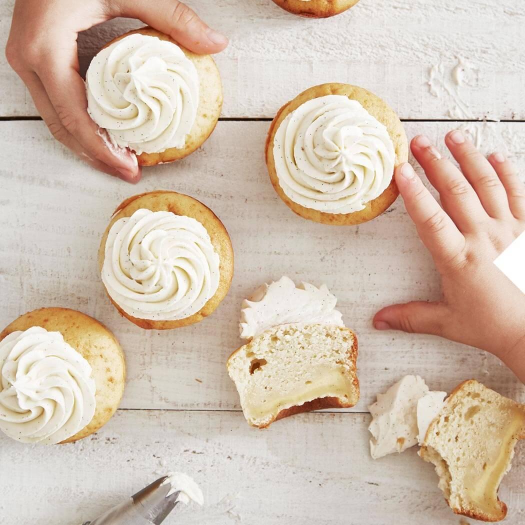 Muffins Vanillemuffins