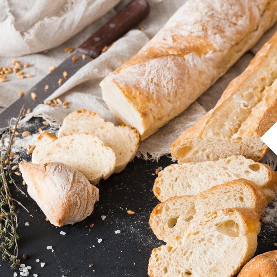 Brot Backen Dinkel Baguette