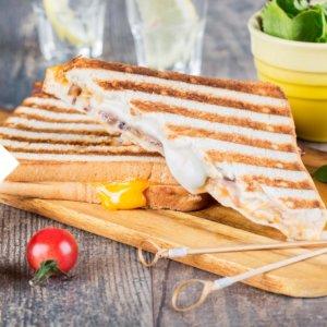 Kontaktgrill Käse Grillen Sandwich