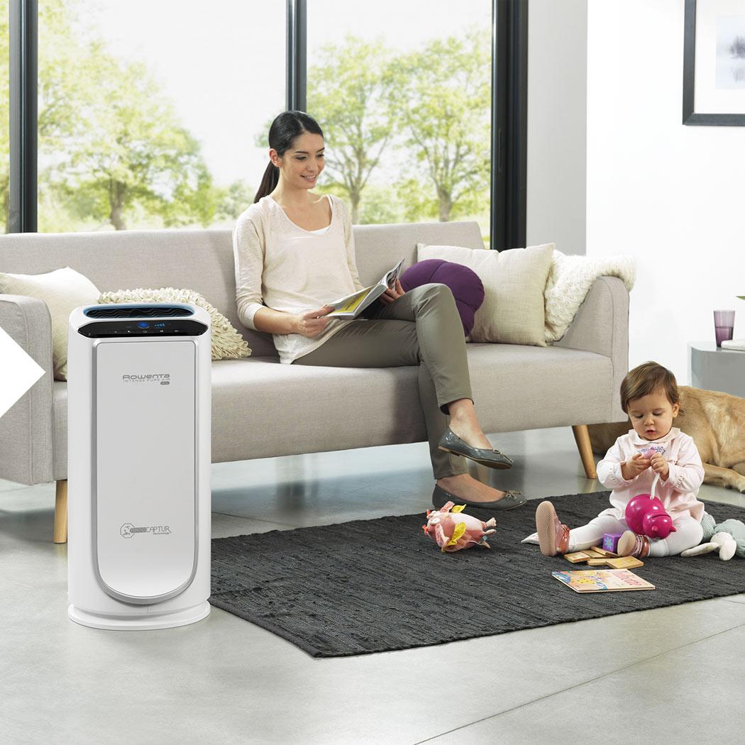 Allergie Luftreiniger Wohnzimmer
