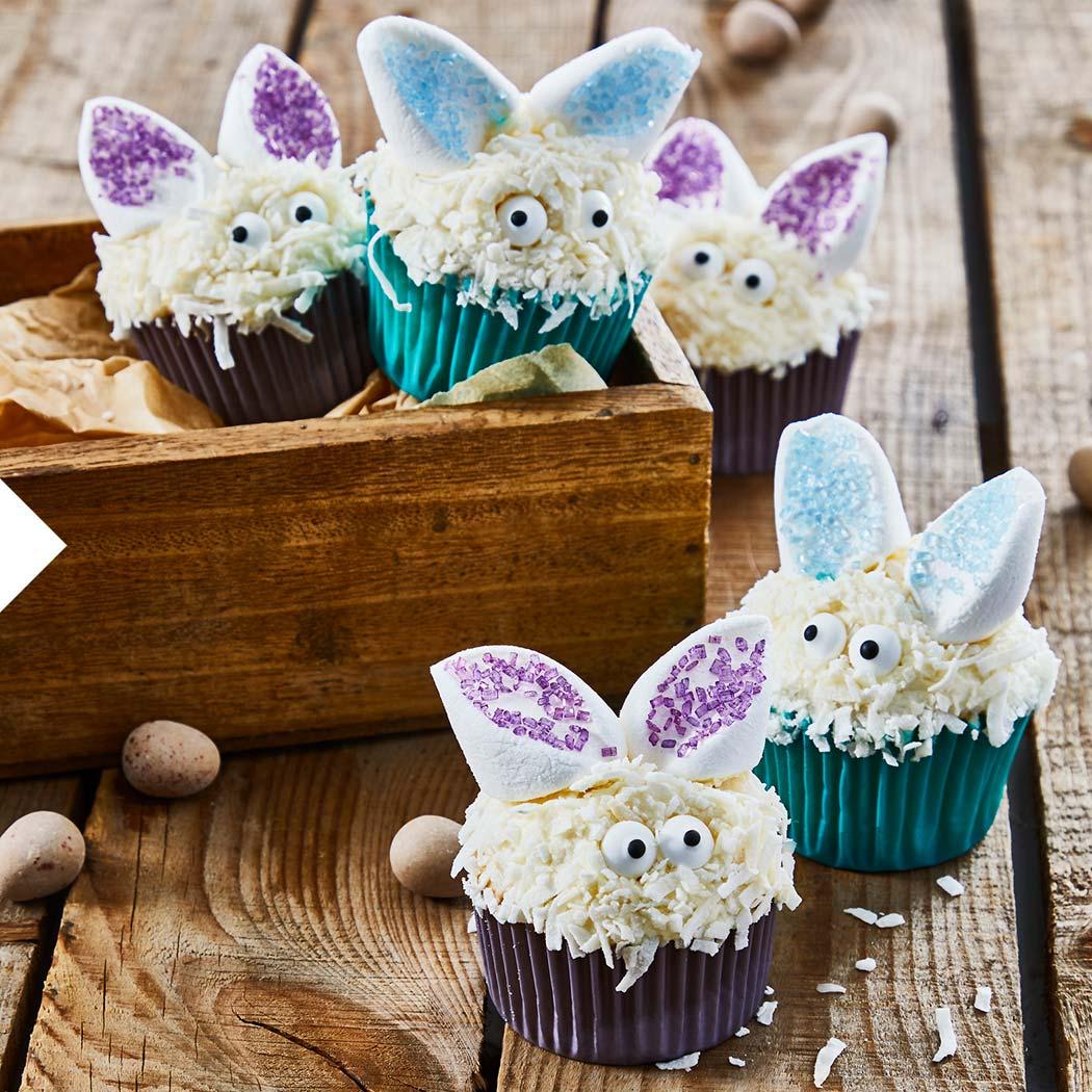 Ostern Cake Factory Osterhasen Cupcakes