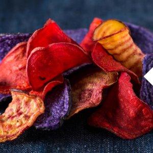 Suesskartoffel Chips