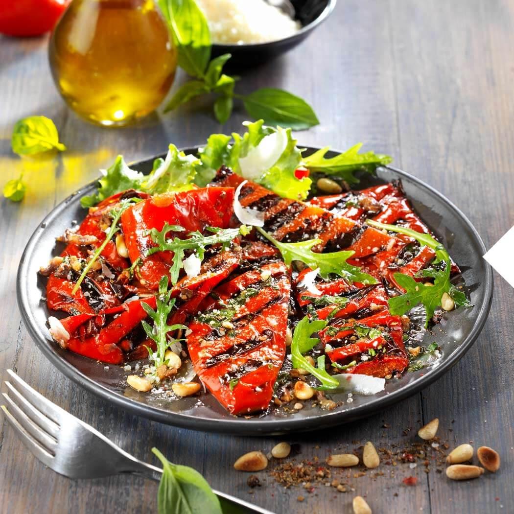 Grillen Low Carb Gemüse Kontaktgrill