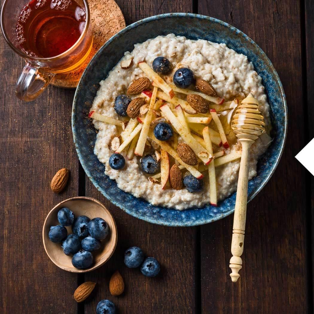 Haferflocken Porridge Granola Honig
