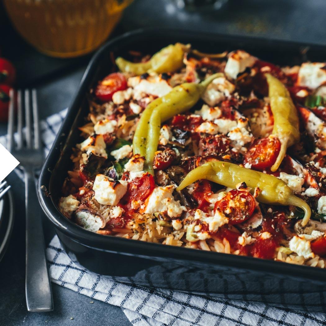 Blogger Die Jungs kochen und backen Feta-Auflauf