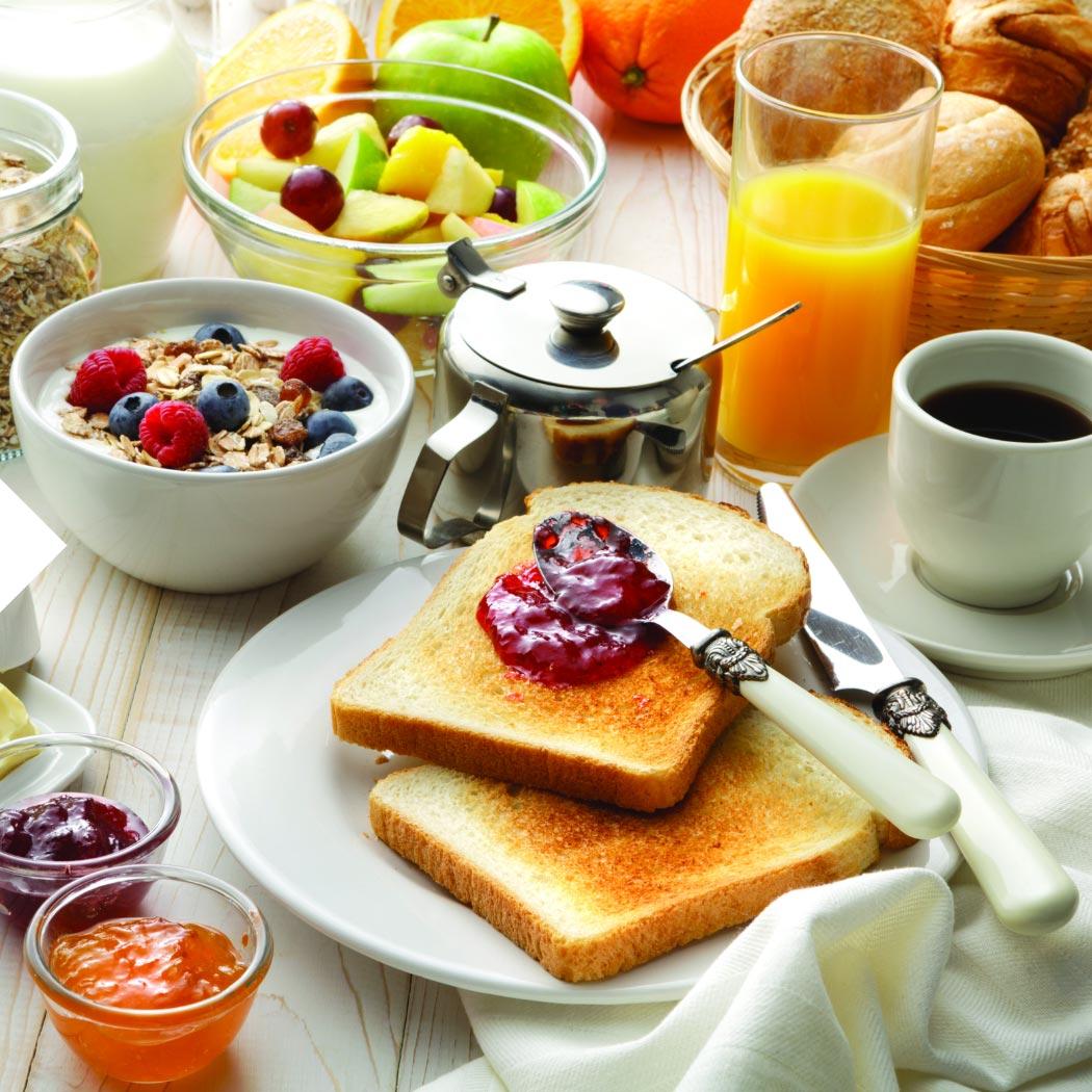 Brötchen backen Frühstück