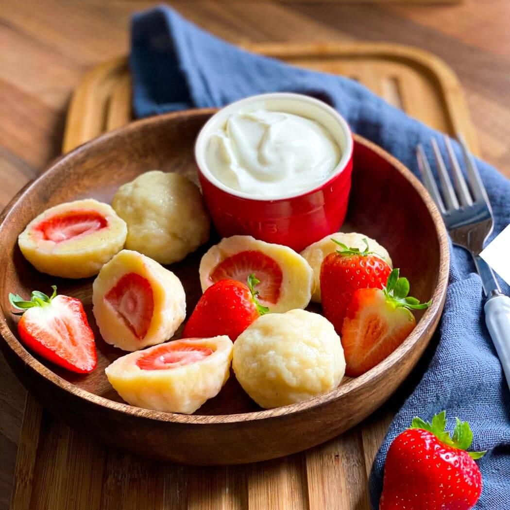 Holla die Kochfee Low Carb Erdbeeren