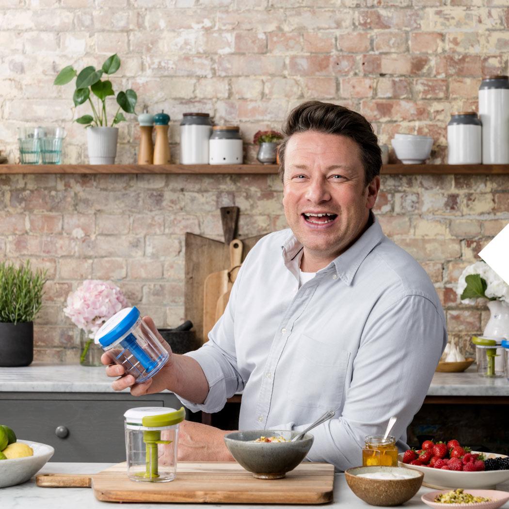Jamie Oliver Chop&Shaker Frühstück