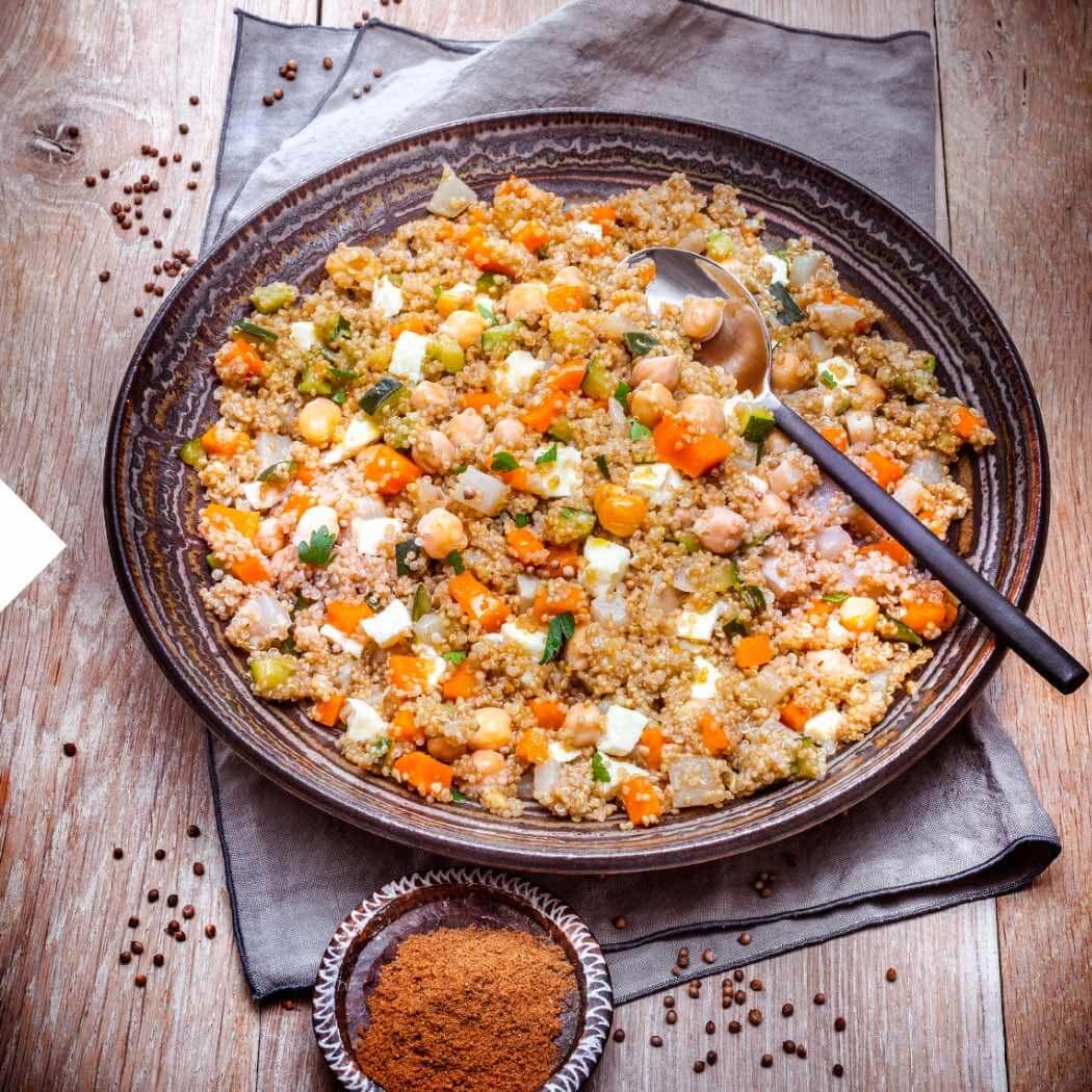 Kichererbsen Quinoa