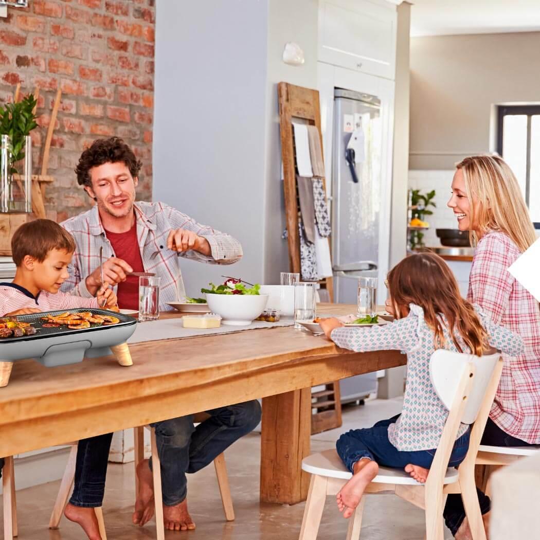 Kontaktgrill Grillen Vatertag Familie