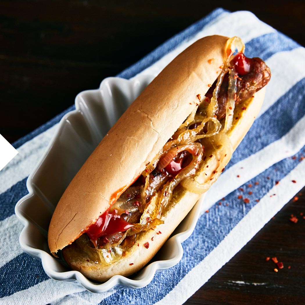 EM Europameisterschaft Fußball Party Gartenparty Hot Dog
