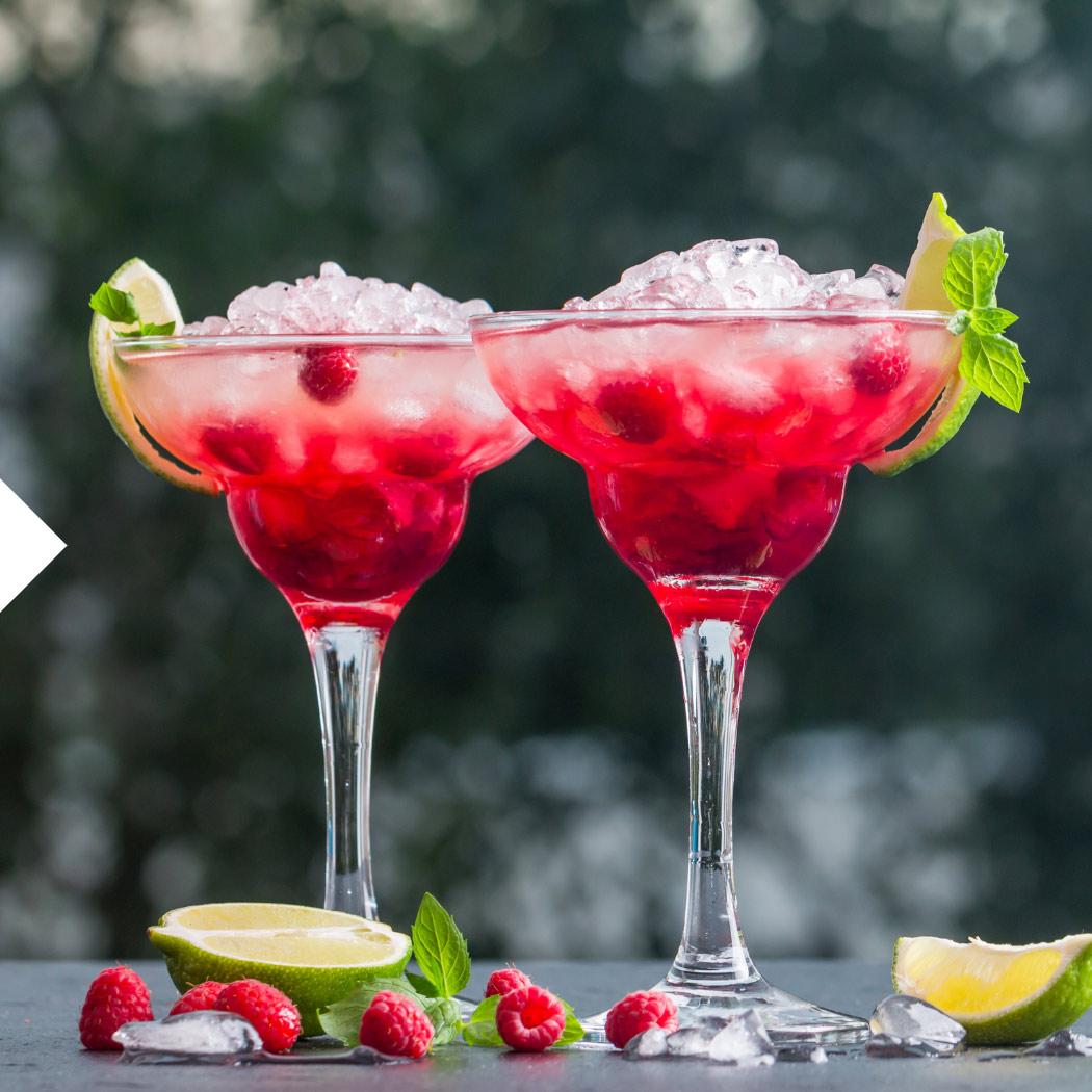 Cocktail Rezepte Himbeere
