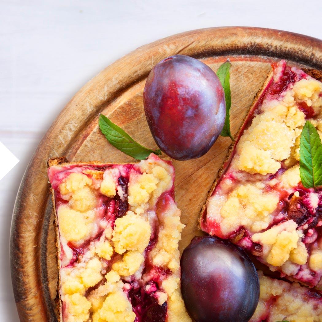 Obstkuchen Pflaume