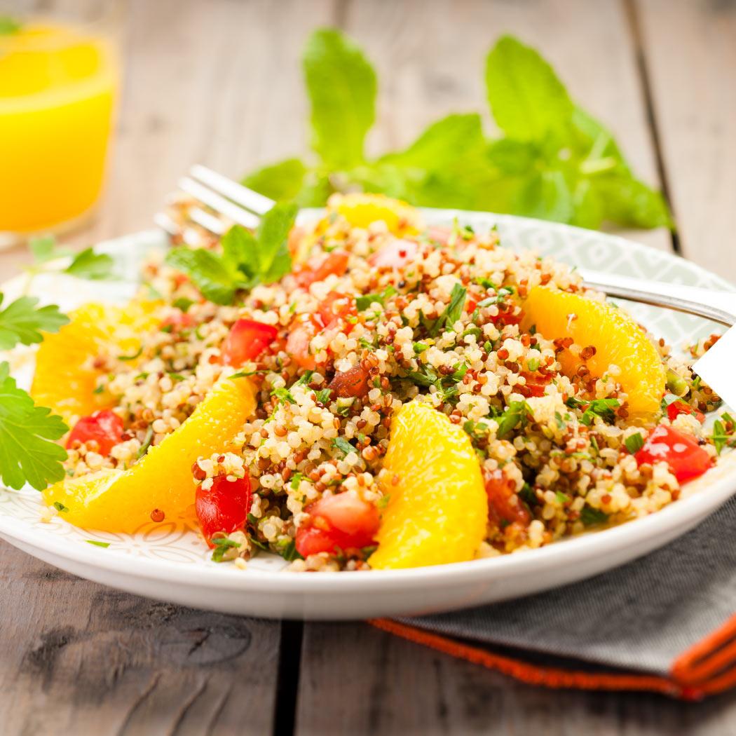 Sommersalate Quinoa