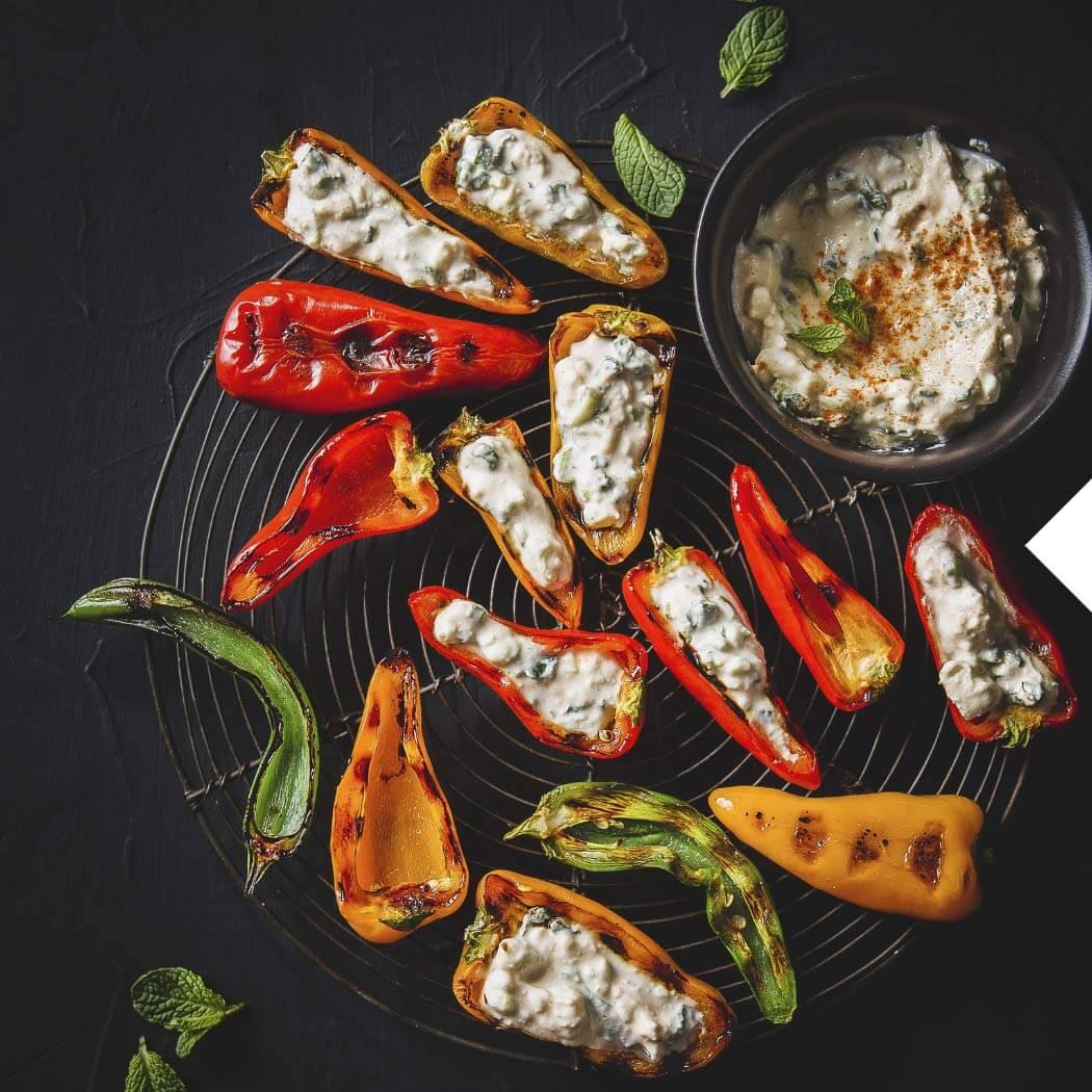 Grillen Snacks Fingerfood Paprika
