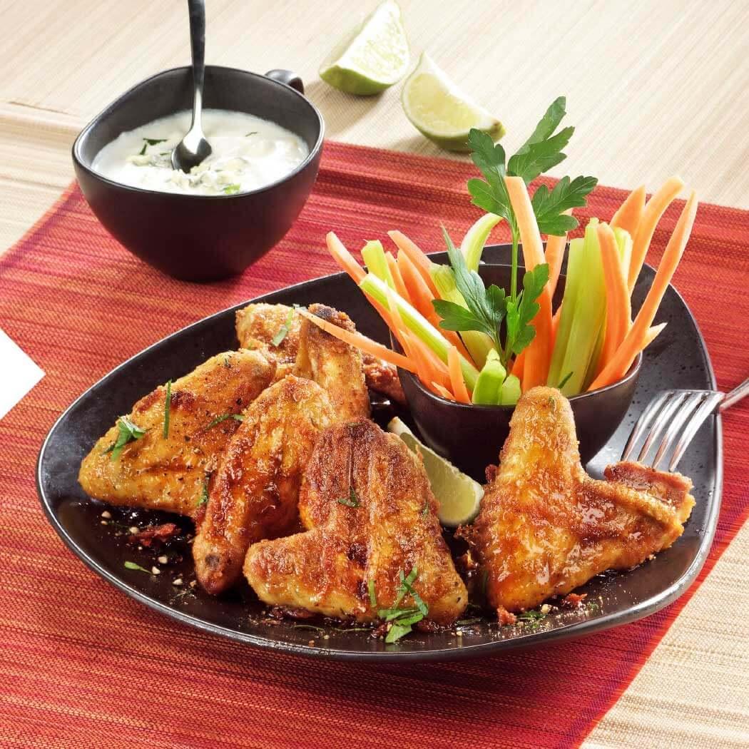 Grillen Snacks Fingerfood Chickenwings