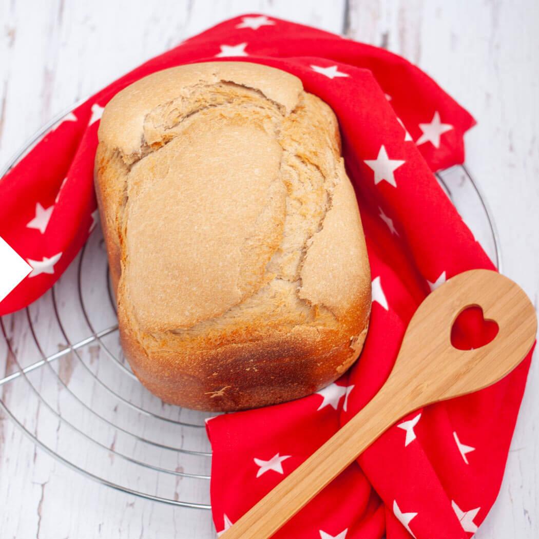 Brot backen mit Brotbackautomat Weißbrot