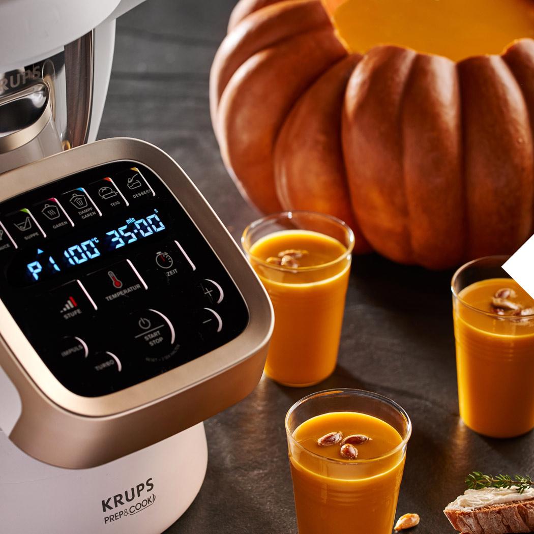 Halloween Kürbis KRUPS Prep&Cook