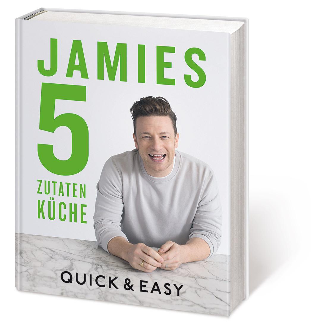 Jamie Oliver 5 Zutaten Buch
