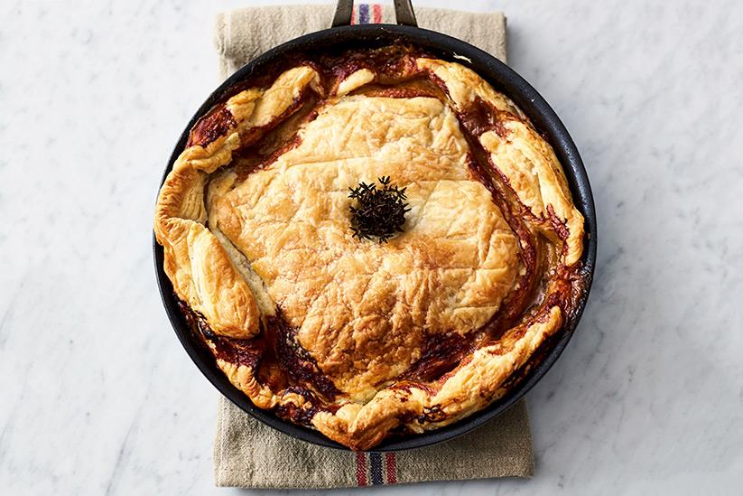 Jamie Oliver Kochbuch 5 Zutaten Hähnchen Pie