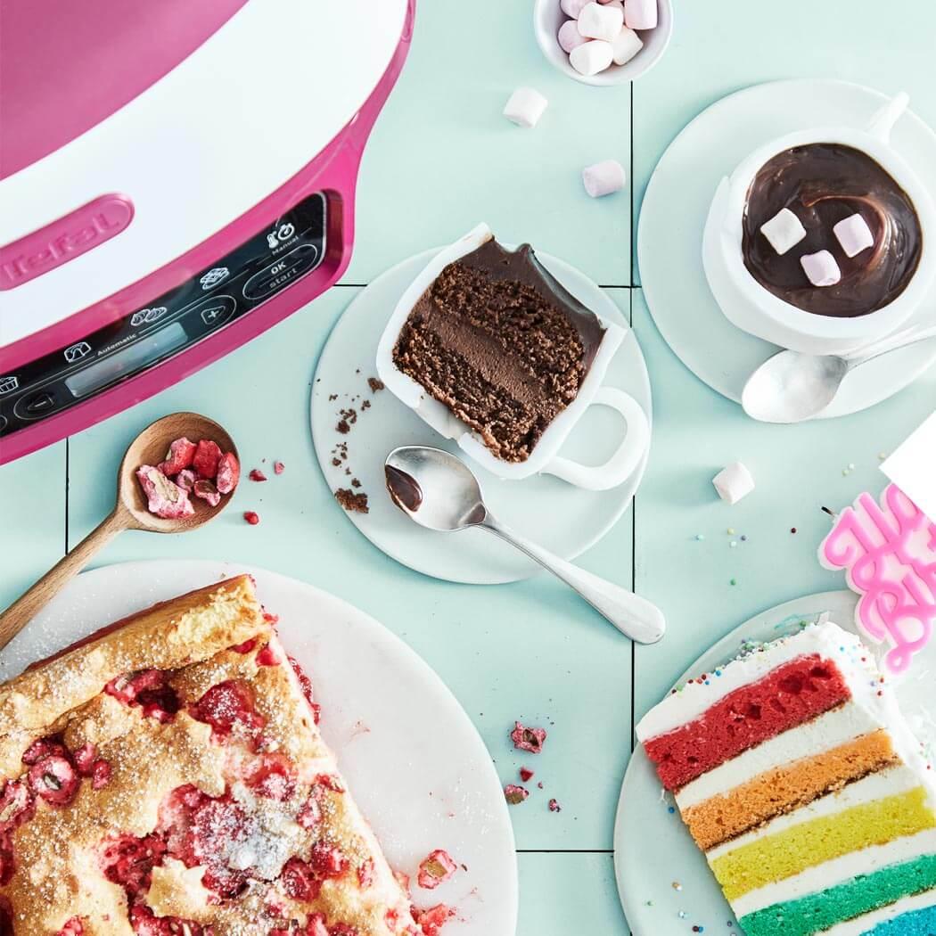bunten Kuchen backen Kindergeburtstag Cake Factory