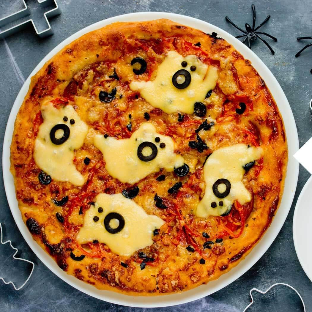 Kindergeburtstag Pizza backen